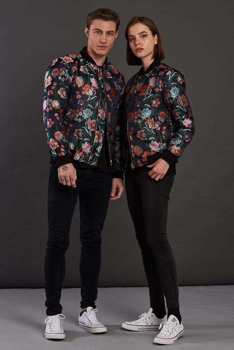 statement bomber jacket for men and women