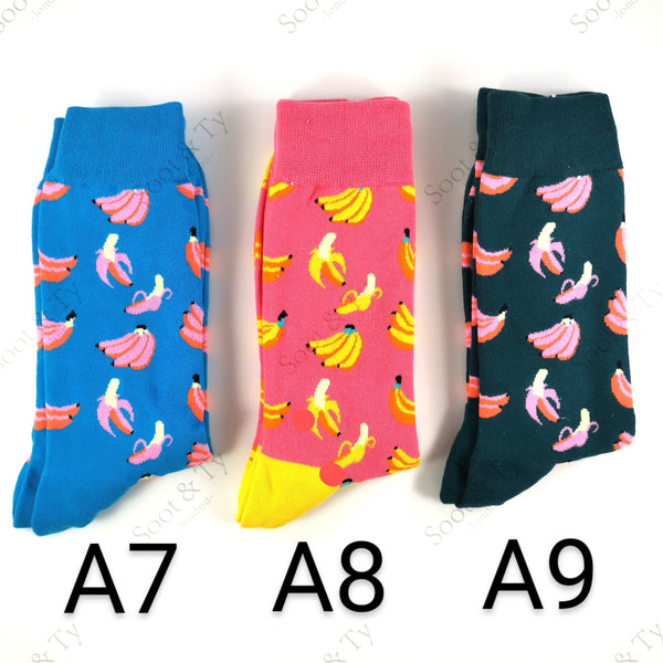 Happier Socks | #A7-A9 UK7-12 / EU41-46 / US8-13