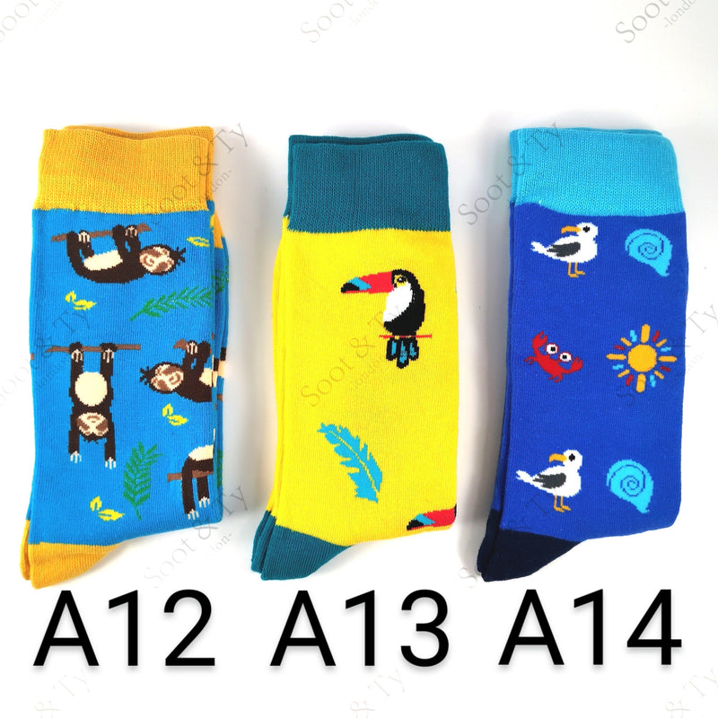 Happier Socks | #A12-A14 UK7-12 / EU41-46 / US8-13