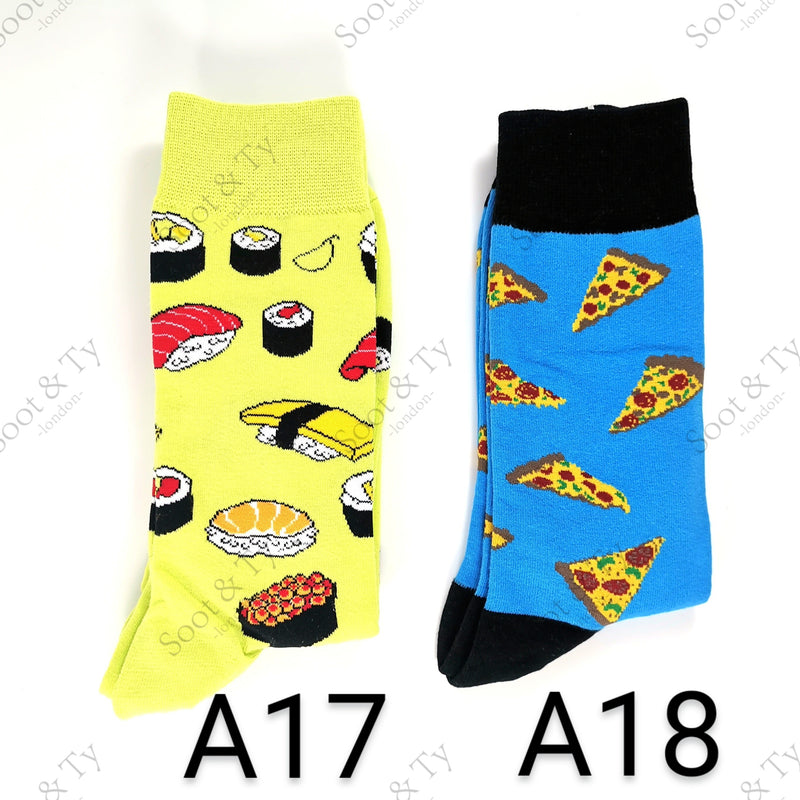 Happier Socks | #A17-A18 UK7-12 / EU41-46 / US8-13