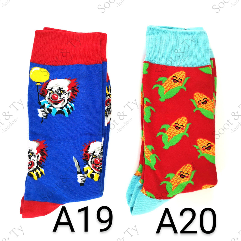 Happier Socks | #A19-A20 UK7-12 / EU41-46 / US8-13