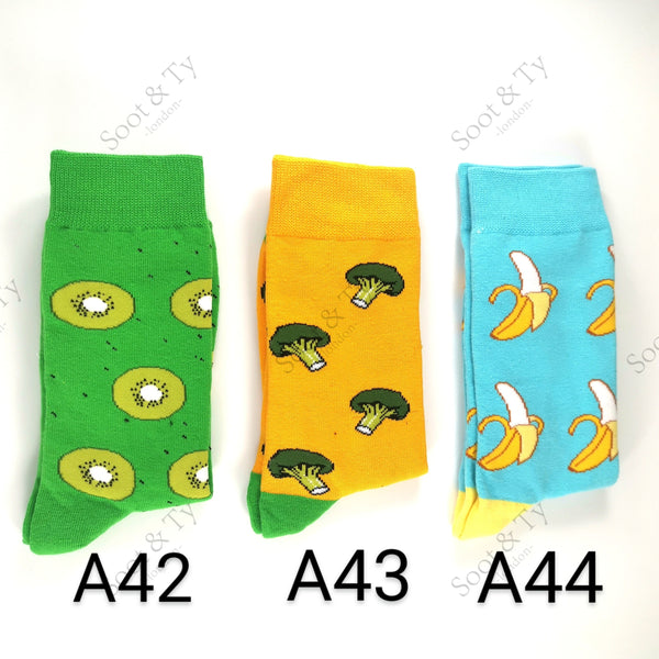Happier Socks | #A42-A44 UK7-12 / EU41-46 / US8-13