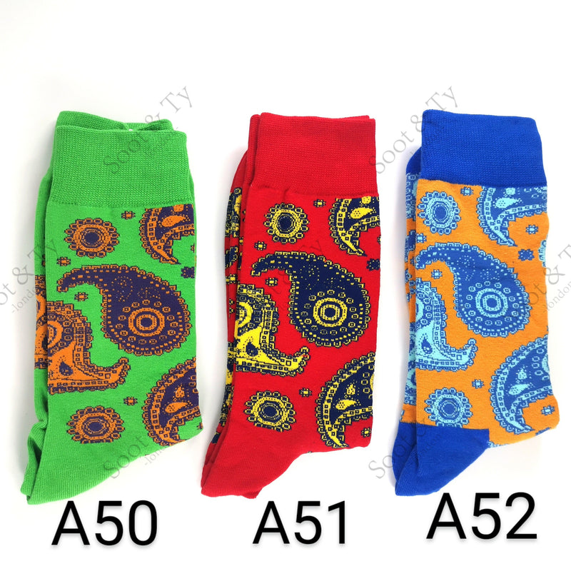 Happier Socks | #A50-A52 UK7-12 / EU41-46 / US8-13