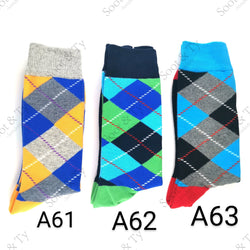 Happier Socks | #A61-A63 UK7-12 / EU41-46 / US8-13