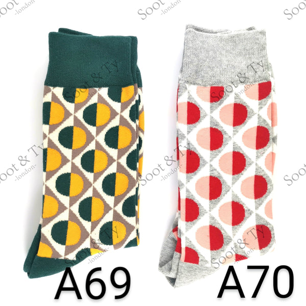 Happier Socks | #A69-A70 UK7-12 / EU41-46 / US8-13