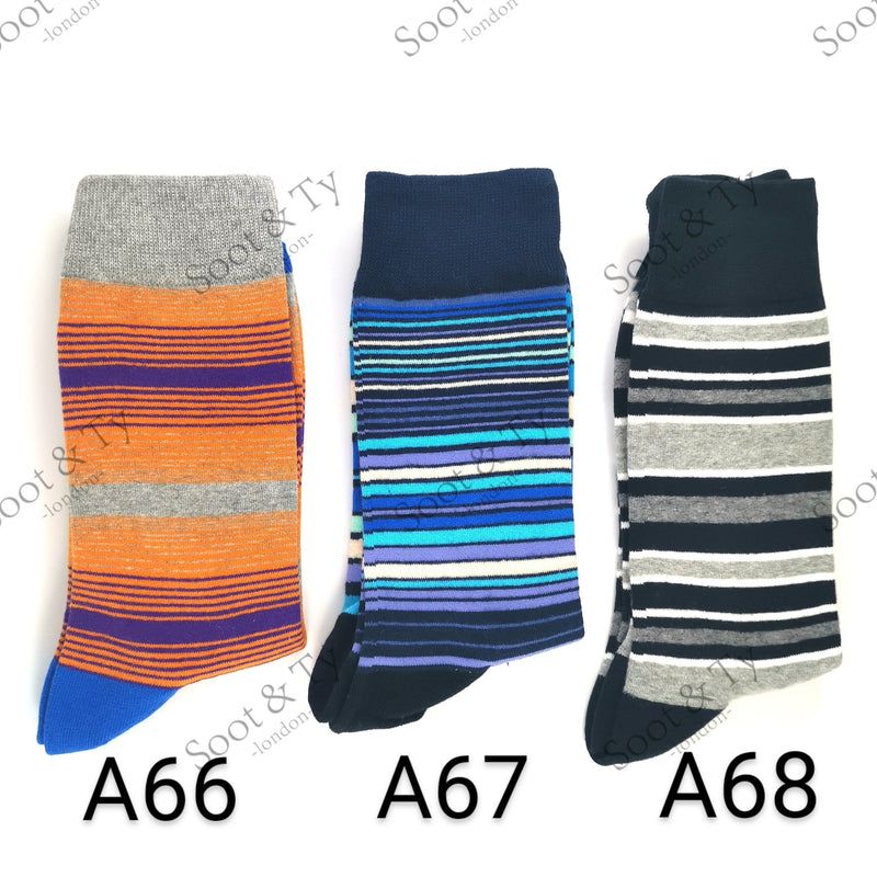 Happier Socks | #A66-A68 UK7-12 / EU41-46 / US8-13