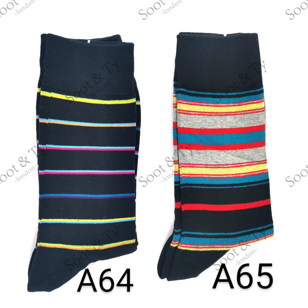 Happier Socks | #A64-A65 UK7-12 / EU41-46 / US8-13