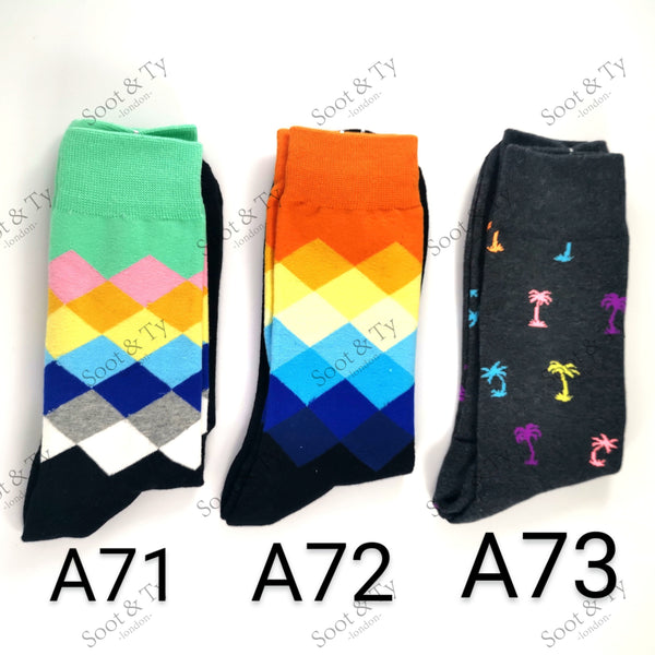 Happier Socks | #A71-A73 UK7-12 / EU41-46 / US8-13