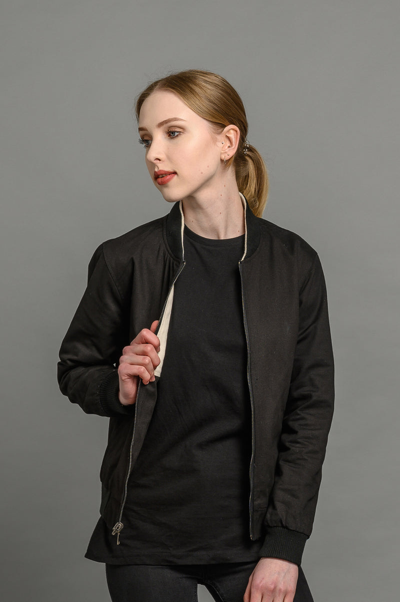 Reversible Classic 2 Colour Bomber Jacket