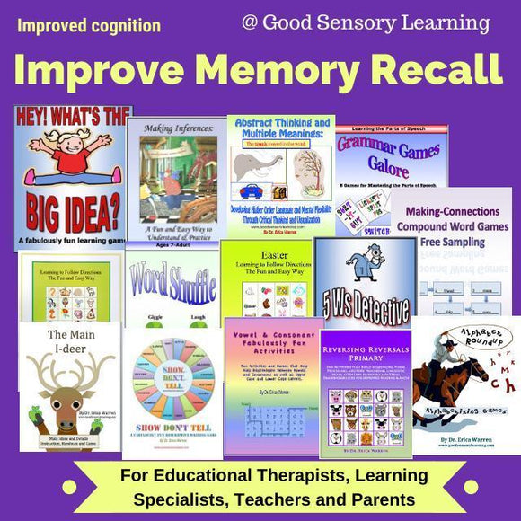 training for memory recall