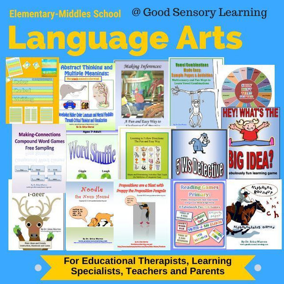 language arts lessons and activities