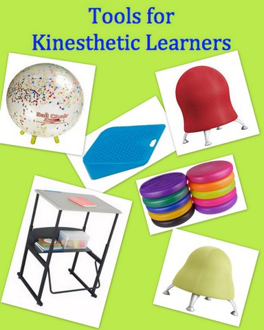 Tools for kinesthetic learners