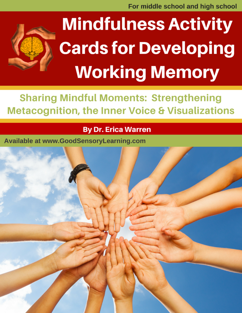 Working Memory Task Cards