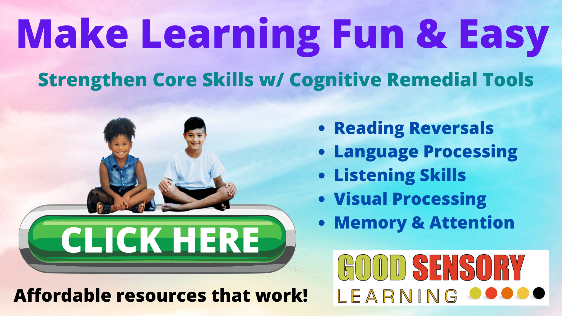 Cognitive remediation for students