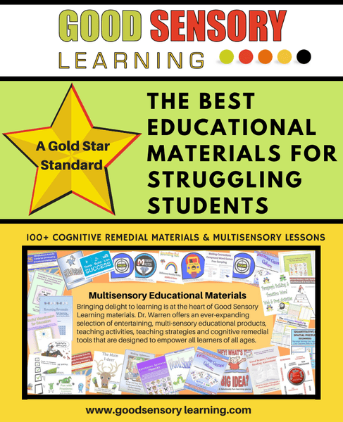 Educational materials for learning specialists and educational therapists