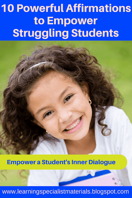 Learn How to Empower a Student's Inner Dialogue