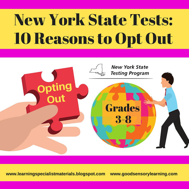 Are you concerned about the effects of state standardized testing on your child or students? Some states allow parents to opt out of the state tests for their children, but this has become a controversial issue in education. Click through to learn more about opting out of state tests and to get 10 reasons why you should consider it.