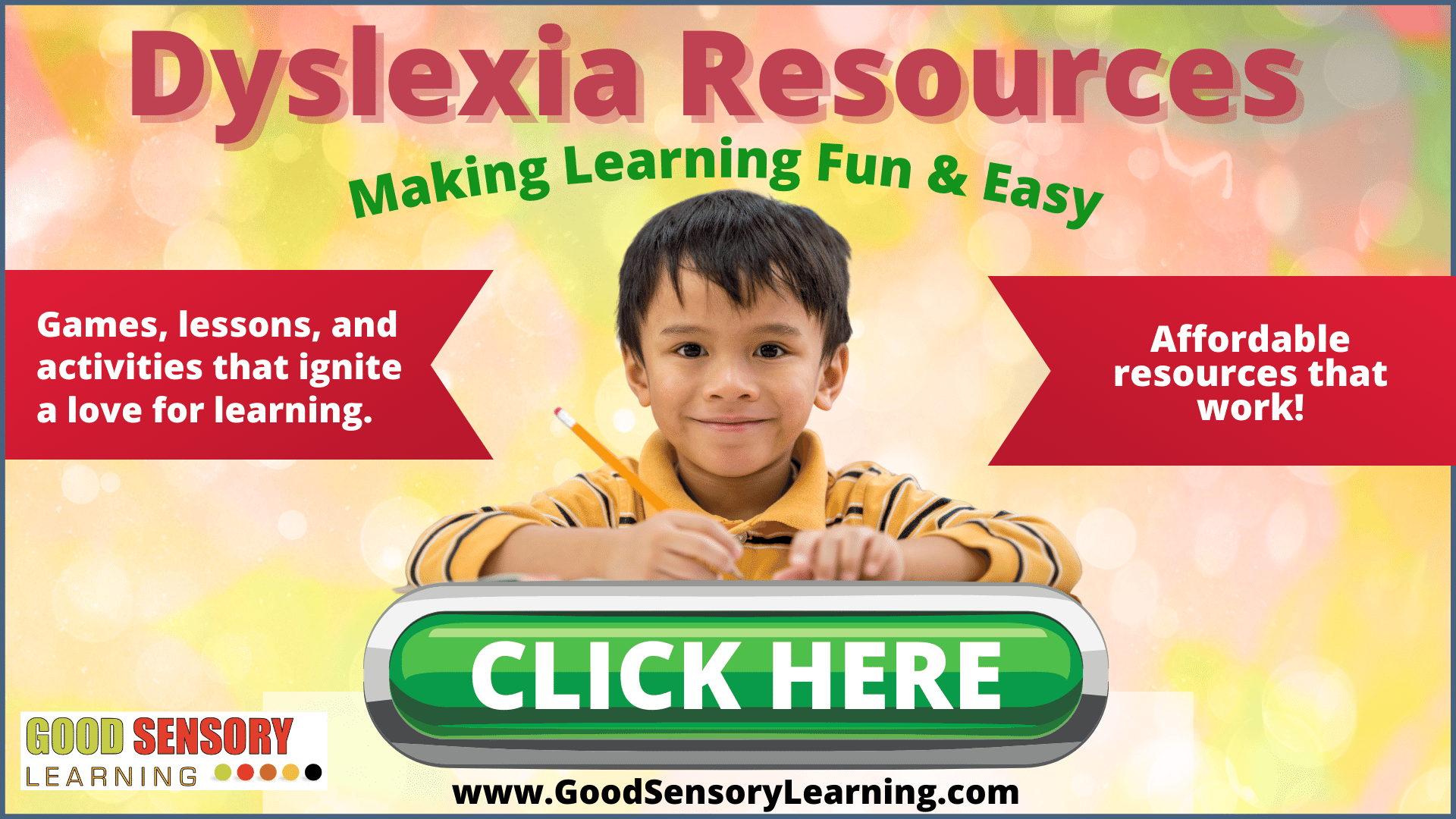 dyslexia resources and materials