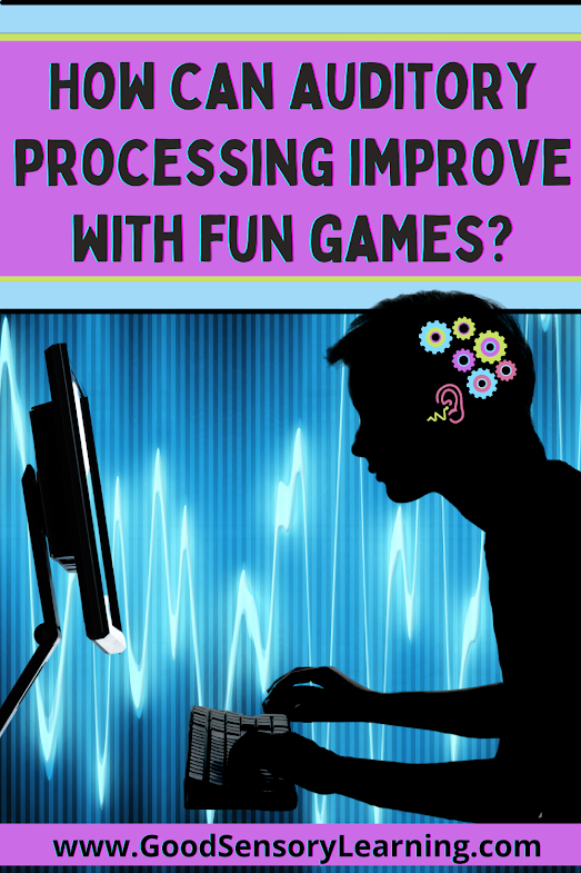 How can auditory processing be improved