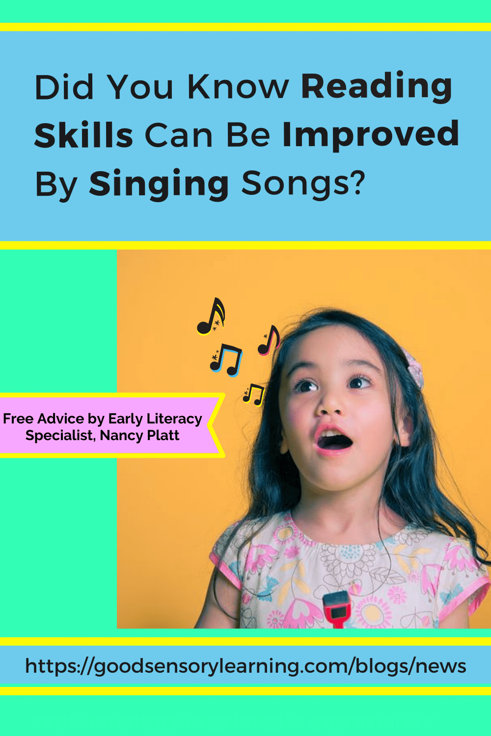 singing songs can improve reading