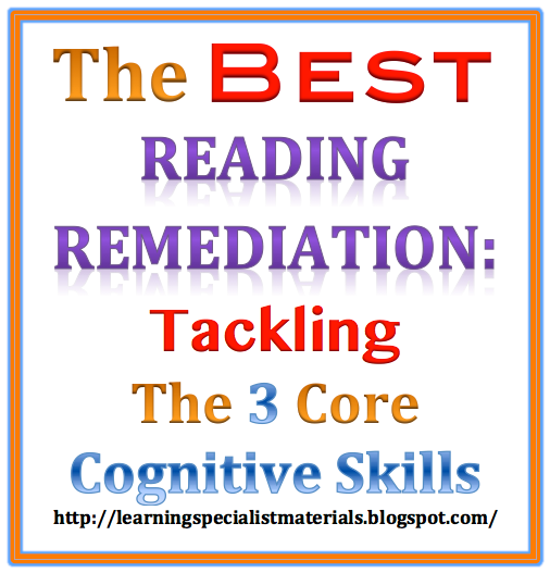 3 cognitive skills that help reading