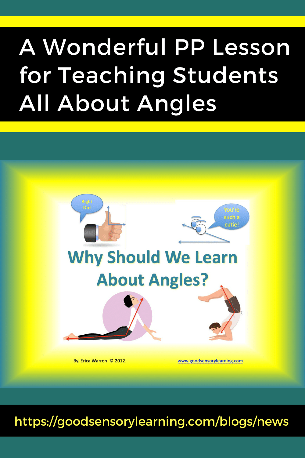 Lesson for Teaching Students All About Angles