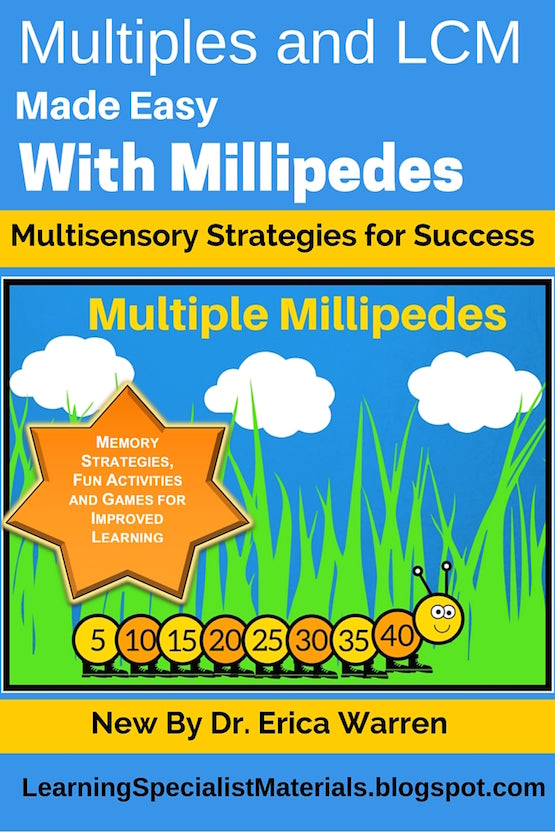 Fun Least Common Multiples lessons and activities