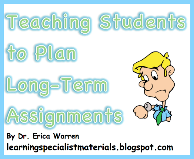 planning long term assignments