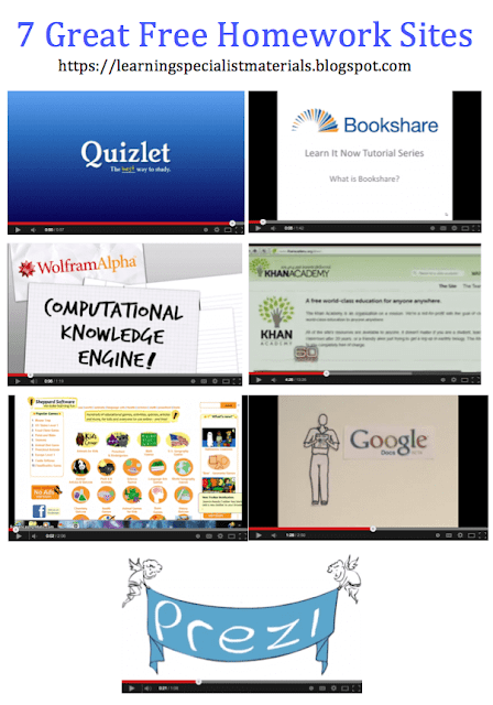 sites that help with home work