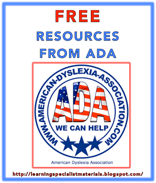 The American Dyslexia Association Offers Free Worksheets for Children