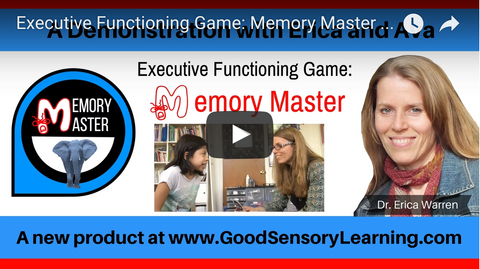 Memory Master - Executive Functioning Game