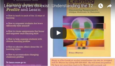 Learning Styles do Exist