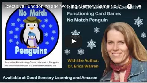 No Match Penguin Executive Functioning Game