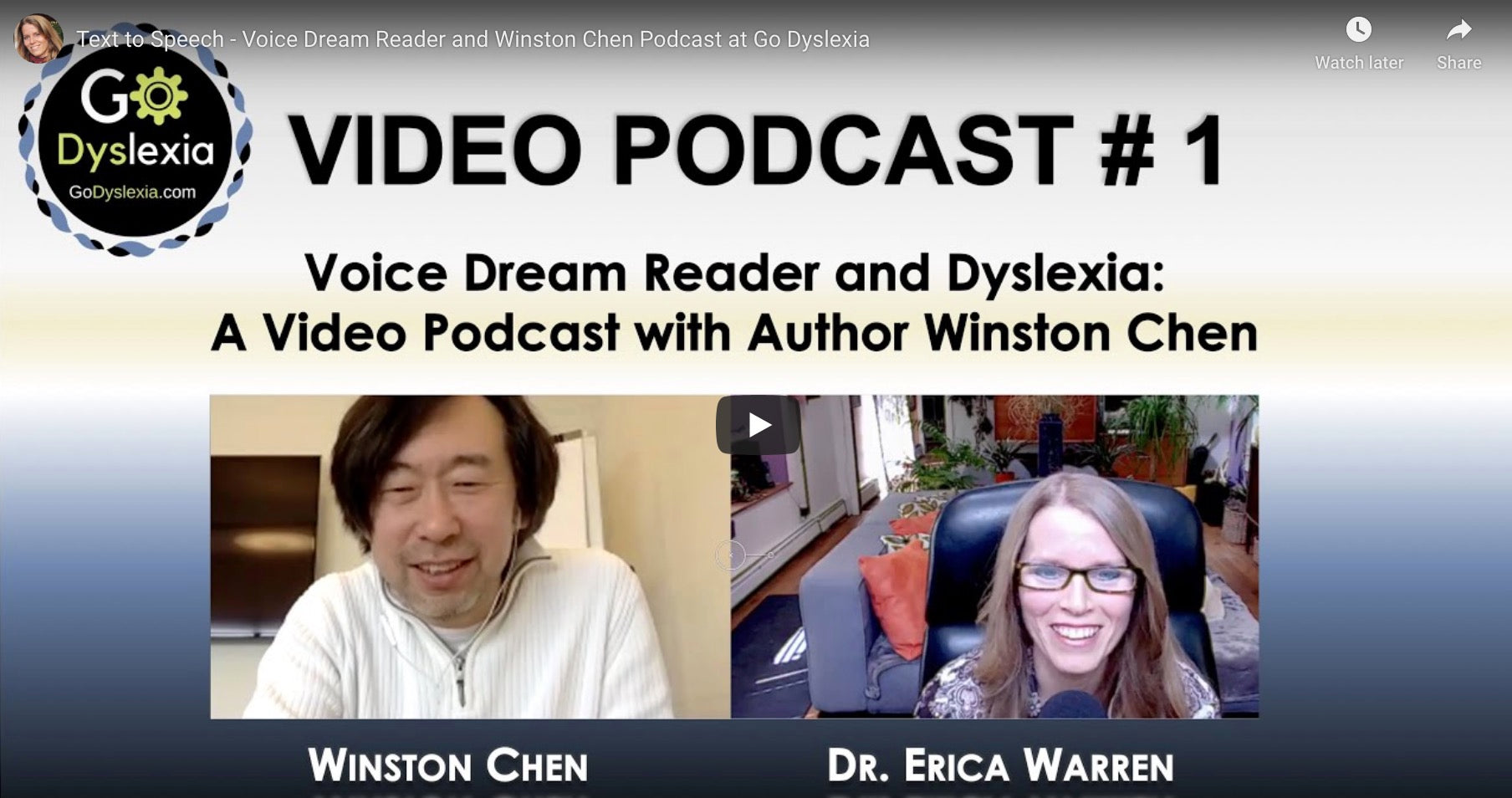 Podcast about Voice Dream Reader