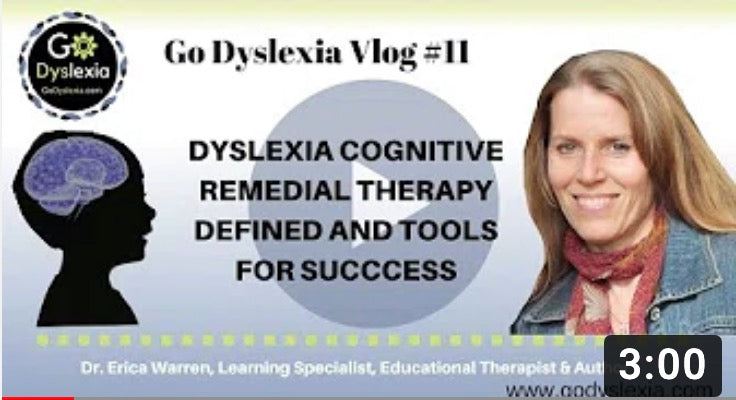 Dyslexia cognitive remedial therapy