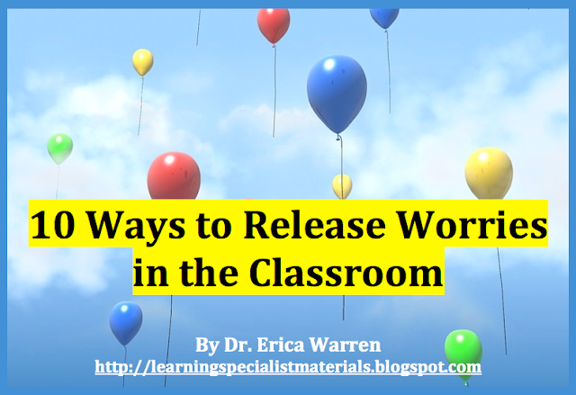 Releasing stress and worries for students