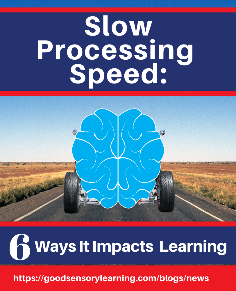 slow processing speed