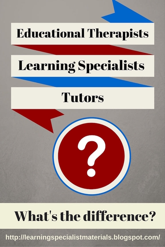 learning specialist or tutor