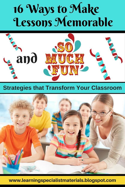 How to Make Lessons Fun