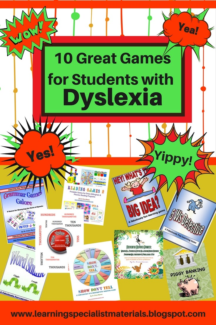 Fun Lessons for Dyslexic Students