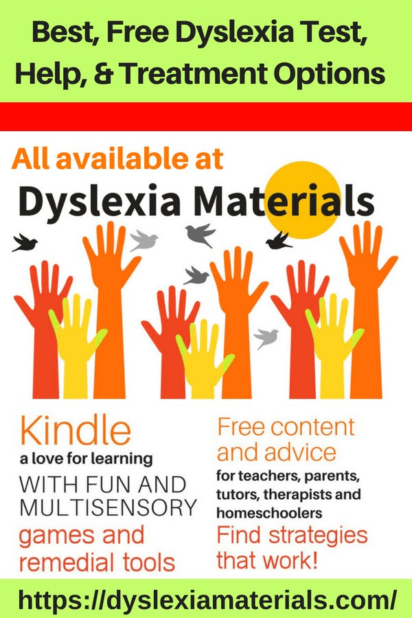 Best Free Dyslexia Test Help and Treatment Options