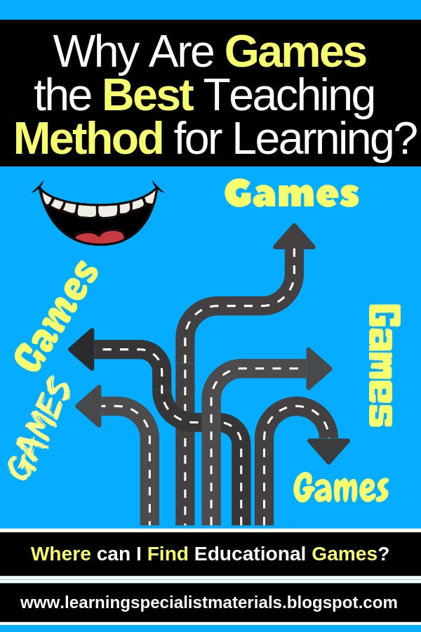 Why use games when teaching