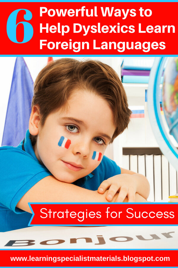 dyslexia and foreign languages