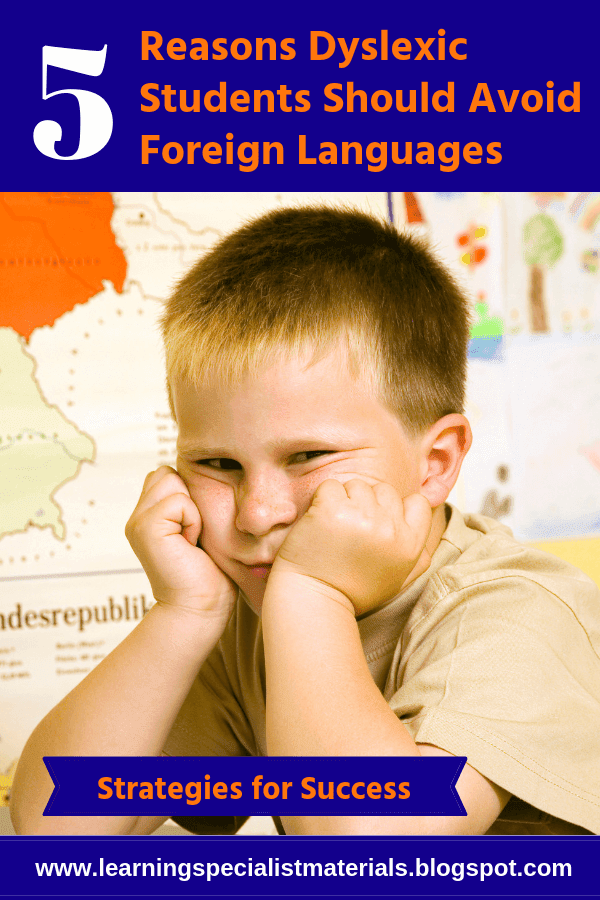 language waivers for students with dyslexia