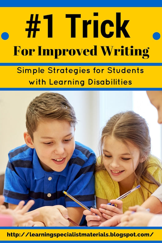 Trick to improve writing
