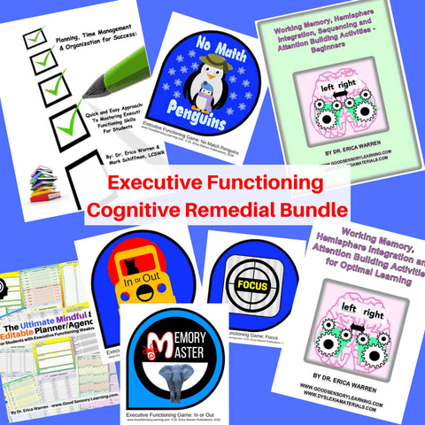 Dr. Warren's executive functioning publications
