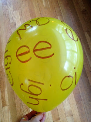 Using balloons for learning