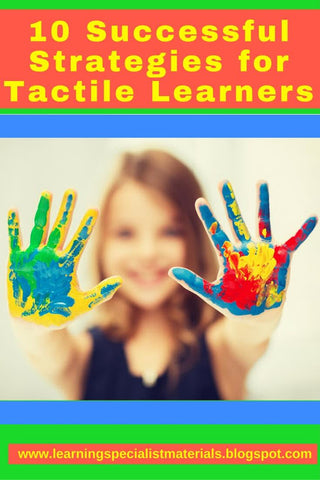 strategies for tactile learners