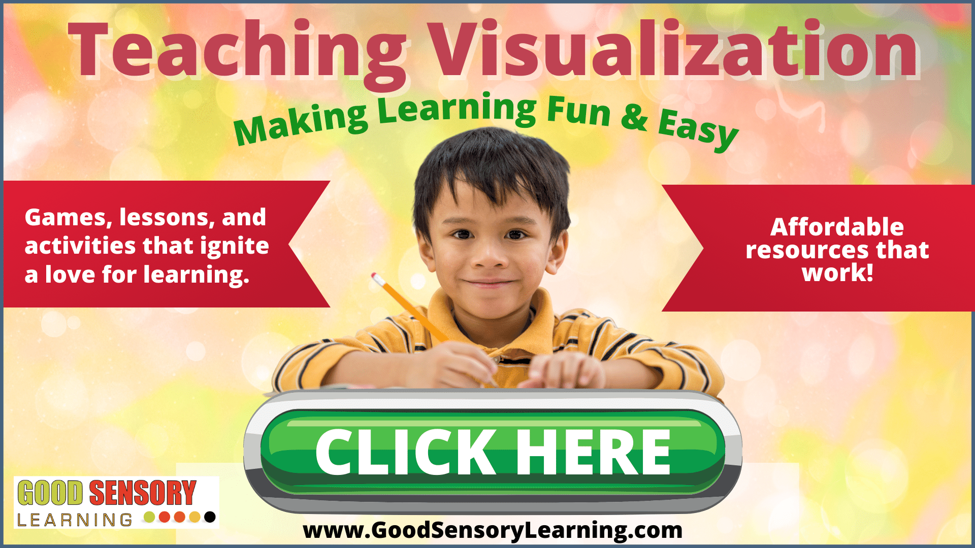 student learning to visualize