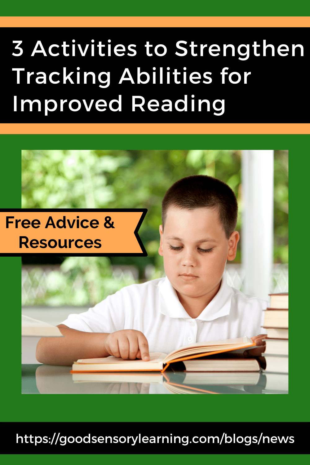 ways to improve tracking for reading